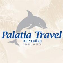 Reisebüro Palatia Travel Travel Agency Logo Delfin